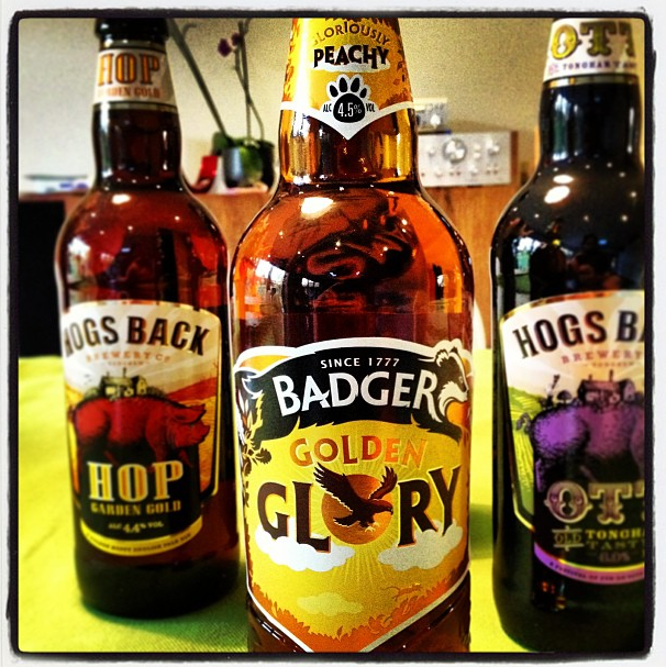 Badger Brewery Golden Glory Ale