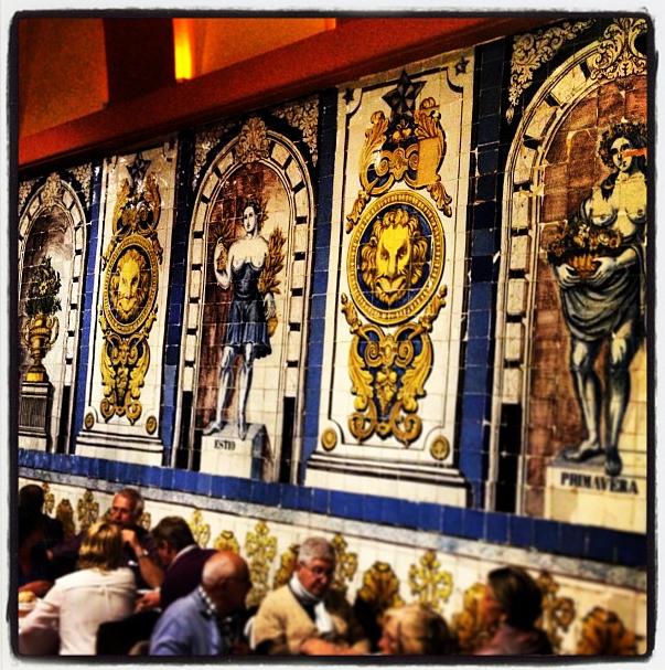 Cervejaria Trindade Tiled Walls