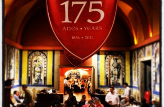 Inside the Cervejaria Trindade