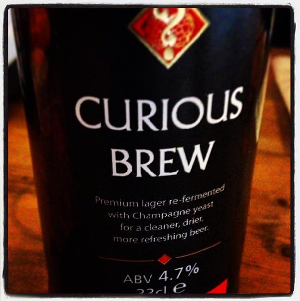 Curious Brew Premium Lager