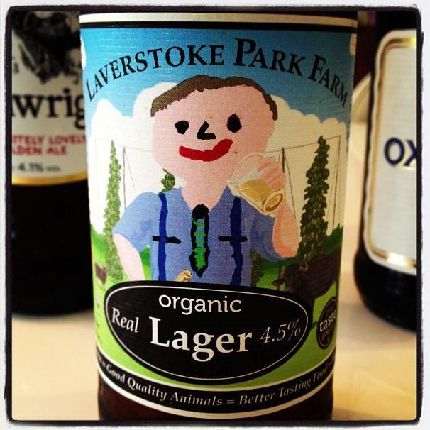 Laverstoke Park Farm Real Organic Lager