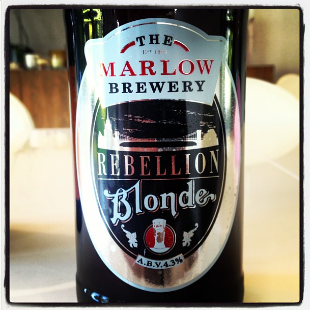 The Marlow Brewery Rebellion Blonde Golden Pale Ale