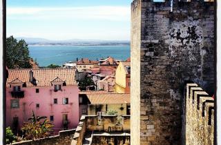 View of Lisbon from Castelo de Sao Jorge