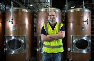 Beerd brewery head brewer Shane O'Beirne