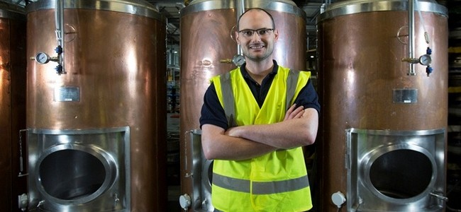 Beerd brewery head brewer Shane O'Beirne