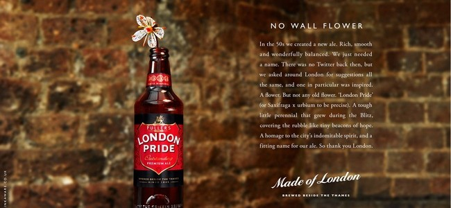 Fuller's London Pride Campaign
