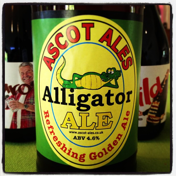 Ascot Ales Alligator Golden Ale
