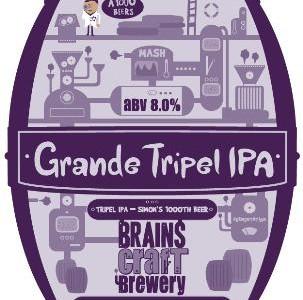 Brains Grande Tripel IPA