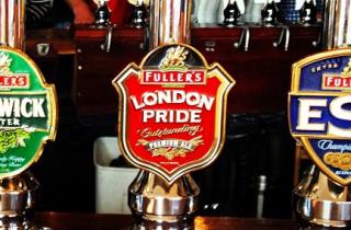 Fuller's Beers on Tap