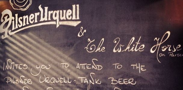 Pilsner Urquell Tank Beer Launch
