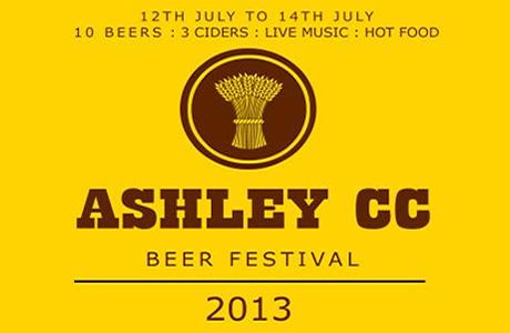 Ashley Cricket Club Beer Festival