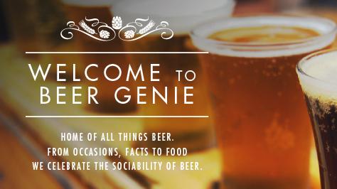 Beer Genie Website