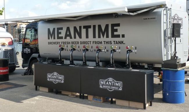 Meantime tanked beer