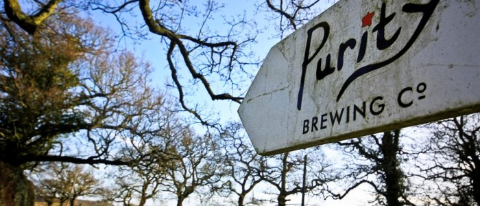 Purity Brewing Co Sign
