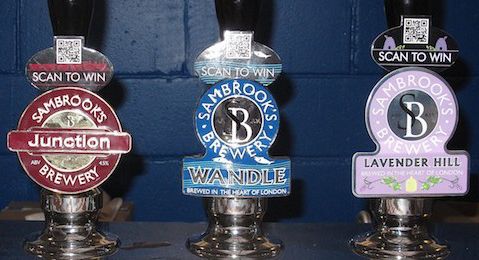 Sambrook's Brewery Craft Beers on Tap