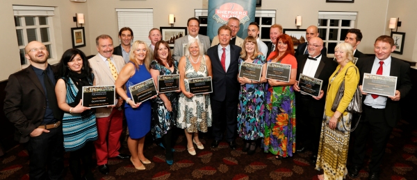 Shepherd Neame Pub Award winners 2013