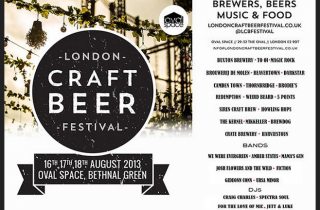 London Craft Beer Festival Bethnal Green