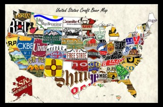 USA Craft Beer Map