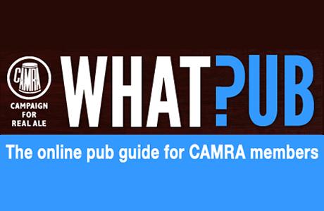 CAMRA whatpub website