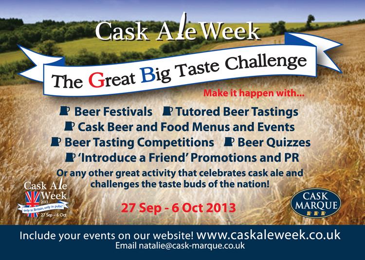 Cask Ale Week 2013
