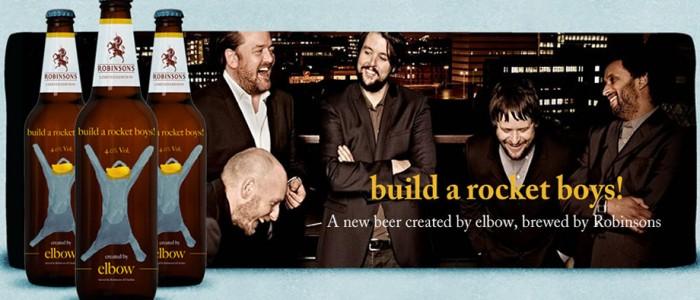 Elbow and build a rocket boys beer