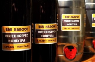 Bru Haroo! Thrice Hopped India Pale Ale