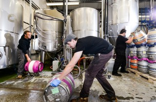 Ilkley Brewery At Work